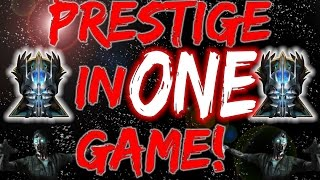 Prestige In One Game! ULTIMATE  Black Ops 3 Zombies Level Up/High Round Guide!!