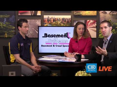 Chad Lacey with Doug Lacey's Basement Systems (one of our Best My Nest vendors) discusses their
