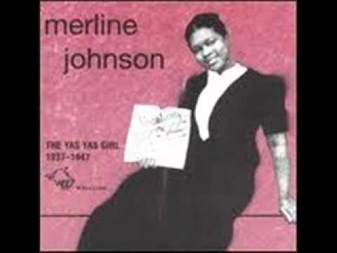 Merline Johnson  (The Yas Yas Girl)  - Bad Whiskey Blues