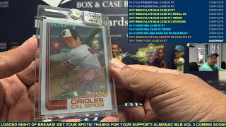 2017 Topps Clearly Authentic Baseball 2 Box Break for William S