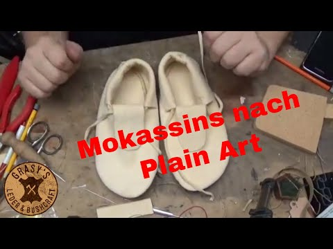 Mokassins nach Plain Art  (Hudson Bay Bausatz)