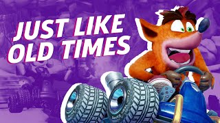 Crash Team Racing Nitro-Fueled Is Shaping Up To Be a Faithful Recreation Of The Original