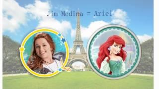 """Princesas Y Príncipes De """"Soy Luna""""♥"""