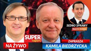SE Bolesław PIECHA, lekarz Maciej HAMANKIEWICZ i Marcin OCIEPA [NA ŻYWO] Super Raport i Sedno Sprawy