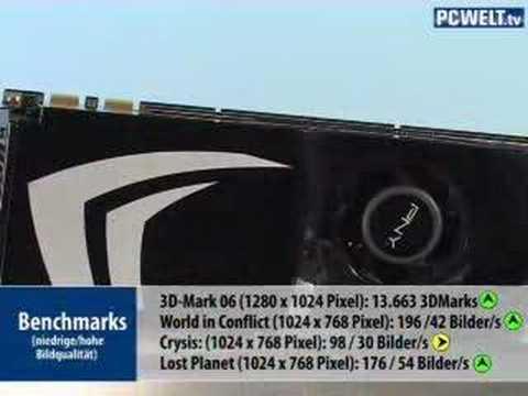 PNY Geforce 9800 GTX im Test
