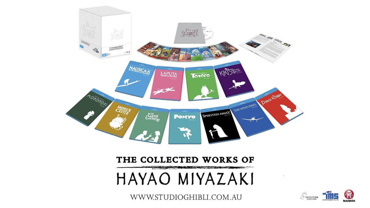 WINNERS! The Collected Works of Hayao Miyazaki And Other Studio Ghibli Stuff!