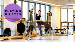 [Playing Pilates]발레 전신 운동 11 min★Full Body Ballet WorkOut