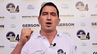Paul Garcia, Candidato Asambleísta del Ecuador 2021.