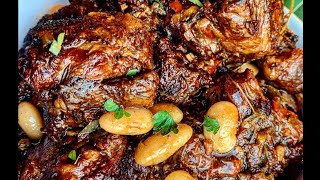 Jamaican Oxtail Stew  How to make Oxtail Stew