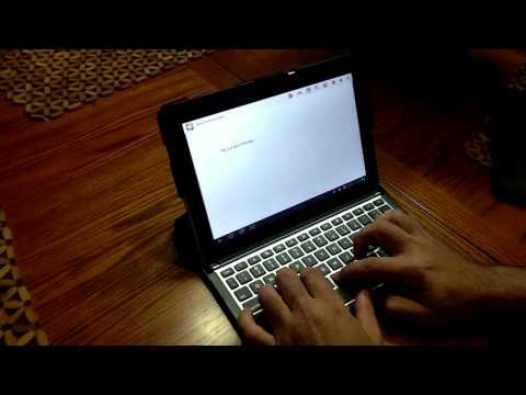 Review ZaggFolio Keyboard For Samsung Galaxy Tab 10.1