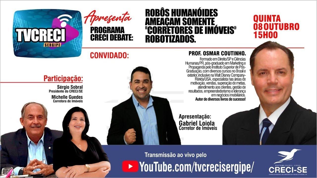 """CRECI Debate # Robôs Humanóides Ameaçam Somente """"Corretores de Imóveis"""" Robotizados"""