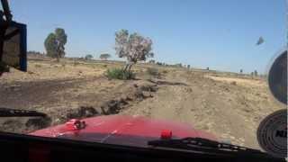 Driving 4X4 to Lake Tana, Gorgora, Ethiopia Part 1