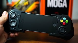 Moga Ace Power Gaming Controller For IPhone 5S/5C/5&iPod Touch 5G - Hands On Demo&Review