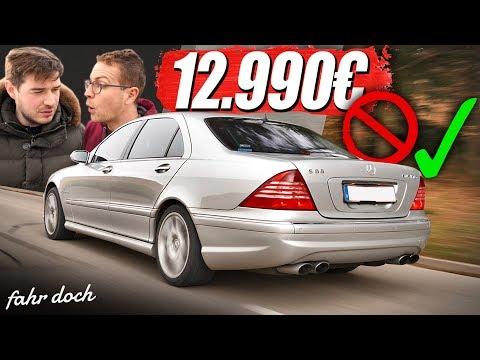 500 PS S-Klasse für 12.990€? MERCEDES S55 AMG W220 | Gebrauchtwagencheck | Fahr doch