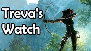 Skyrim: All Hidden Treasures of Treva's Watch (Chests, Detect life, Bound Sword, Courage)