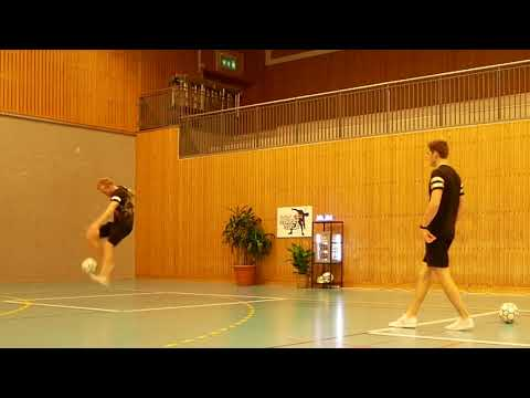 Online World Championship Final 2020 - Brynjar Fagerli vs Erlend Fagerli - Freestyle football