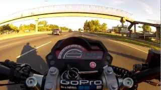 preview picture of video 'YAMAHA FZ 16 en Ramallo...(6).'