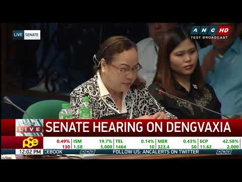 Ubial: Congress pushed me to expand dengue vaccination program
