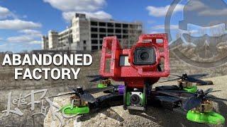 Abandoned Auto Factory - Abandoned Detroit - FPV Freestyle
