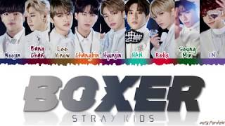 STRAY KIDS (스트레이 키즈)   'BOXER' Lyrics [Color Coded_Han_Rom_Eng]