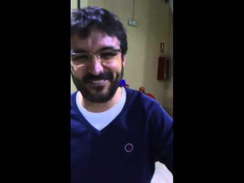 Jordi Évole felicita a los garrovillanos por San Antón