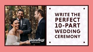 Write and Officiate the Perfect Wedding Ceremony (Like a Pro)