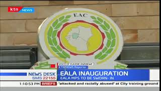 EALA MPs prepare to be sworn in with the speaker to be elected later in the week