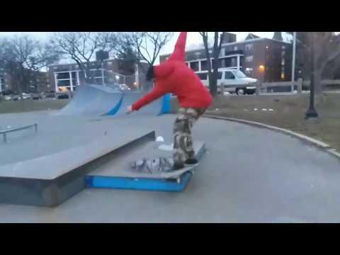 Winthrop skate park sesh