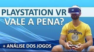 [PT-BR] Playstation VR Review - Vale a pena? + Análise dos jogos e o que vem por aí em 2017!