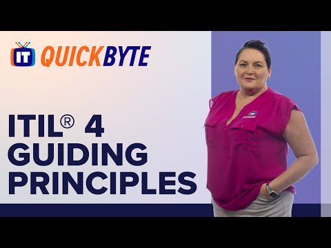 ITIL® 4 Guiding Principles   ITIL® 4 Training & Exam Prep ...