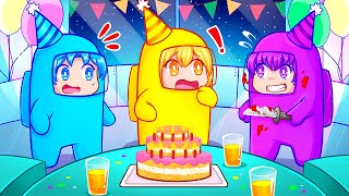 The Roblox Among Us Birthday Party!