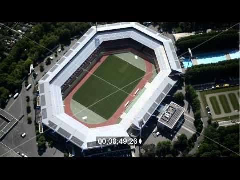 Gelande am Grundig Stadionin Nurnberg im