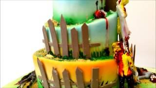 Zombie Wedding Cake - Zombie