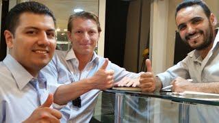 preview picture of video 'Visite du Directeur general John et le Manager des opérations Saul de la SPO Oriflame Settat'