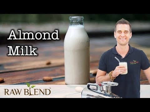 How to Make Almond Milk in a Juicer!