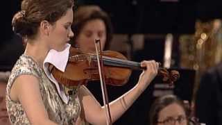 Hilary Hahn Mozart Violin Concerto No. 3 mvt 01 -