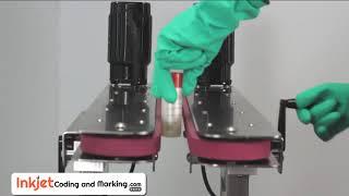 Belt Conveyors Systems - Bottle Gripper Transfer Conveyor