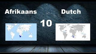 Top 20 Most Similar Languages