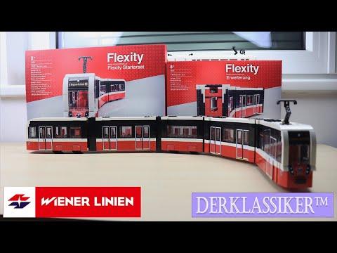 Wiener Linien Straßenbahn Flexity aus LegoR Komponenten von derKlassiker [Review]