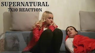 """SUPERNATURAL - 7x10 """"DEATH'S DOOR"""" REACTION"""