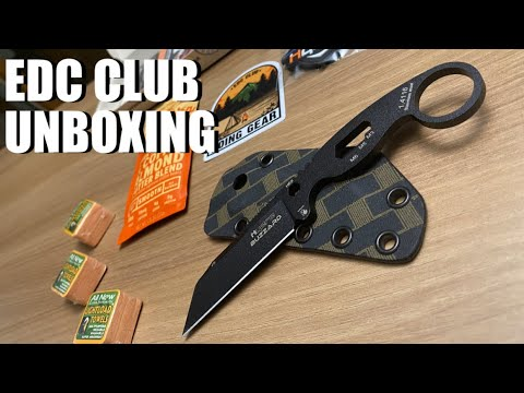 Bugout Planning: EDC Club UNBOXING