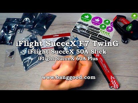 ✔ Полетник iFlight SucceX F7 TwinG + Регуляторы iFlight Succex 50A Slick + Succex 60A plus!