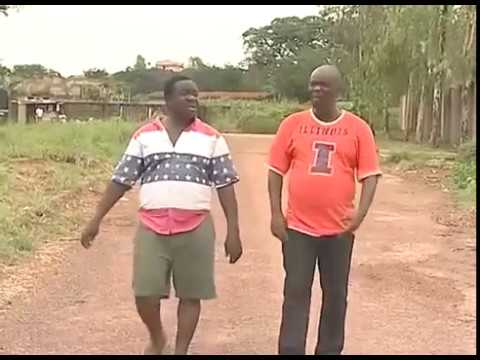 nigerian latest movie John Okafor and Charles Inojie eats road sacrifice