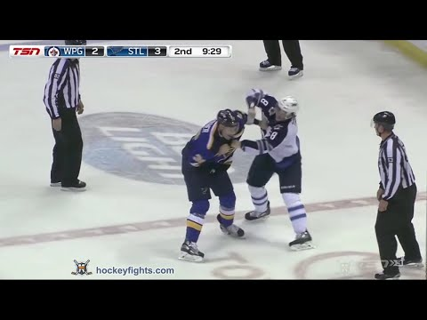 Troy Brouwer vs. Jacob Trouba