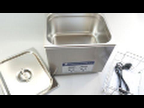 JP-040S 10L Digital Display Dental Digital Ultrasonic Cleaner with Stainless Steel Tank - Treedental
