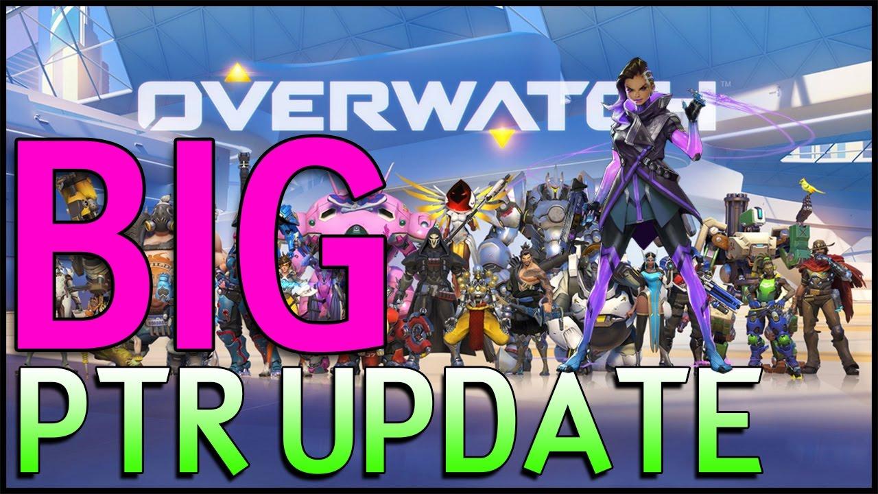 Overwatch: BIG PTR Update! - Sombra, 1v1s, 3v3s, Arcade Mode