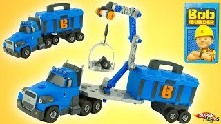 Sunkvežimis 43-65 cm su įrankiais lagamine | Bob Builder | Smoby