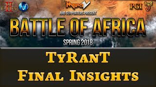 Battle of Africa Grand Final | TyRanT Insights