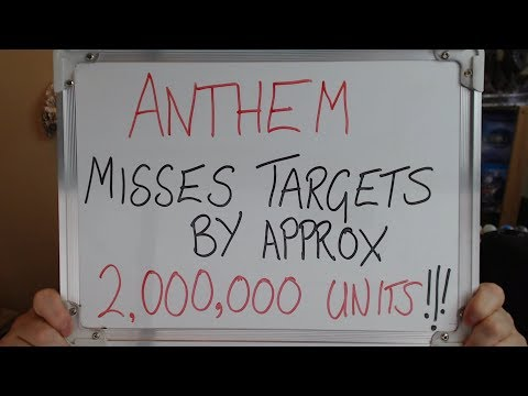 """ANTHEM Misses Target by 2,000,000 UNITS and EA's """"Soft Launch"""" SCAM!!"""