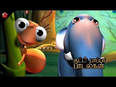 Cutest Nursery Rhymes of Pattampoochi ★Folk songs and stories